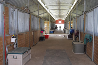 Stable Interior pic Freeman Ranch Katy TX